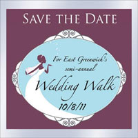 East Greenwich Wedding Walk - 10/8/11
