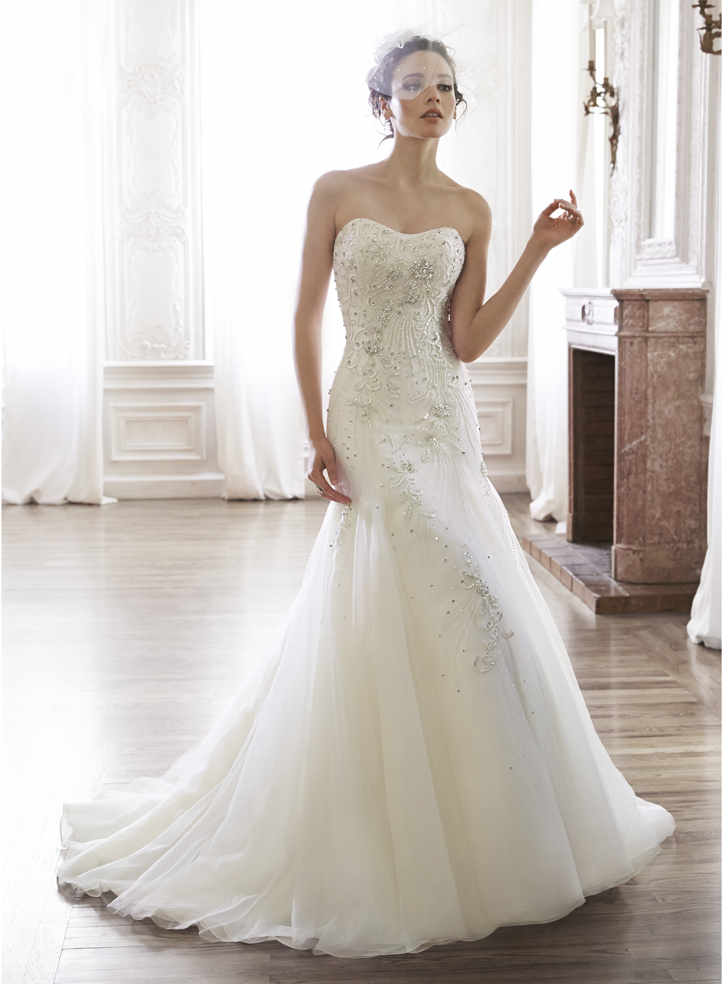 Maggie sottero maylene couture bridal for Maggie sottero couture wedding dress