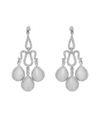 12837 josephine_cats_eye_earrings_silver:gold
