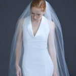 """532-120  120"""" long (108"""") w/ crystal rhinestone banding edge on a wire comb……… All tulle colors……."""