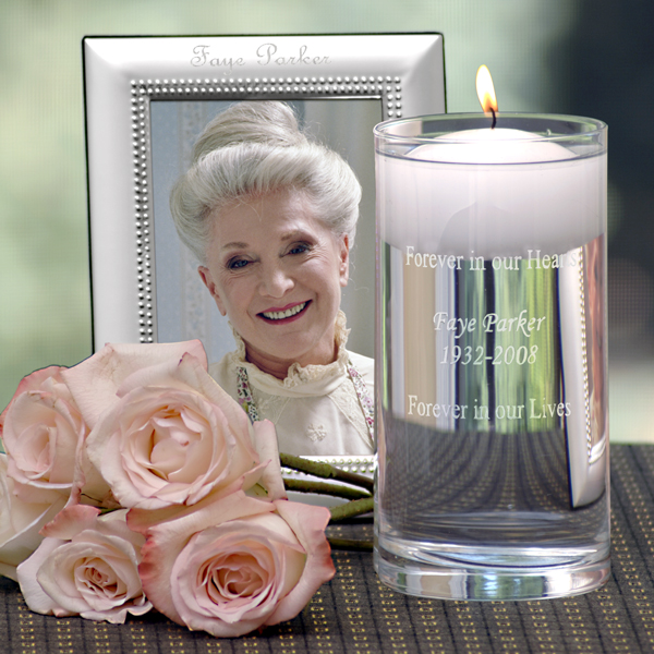 Memorial Candle Amp Frame Set Couture Bridal