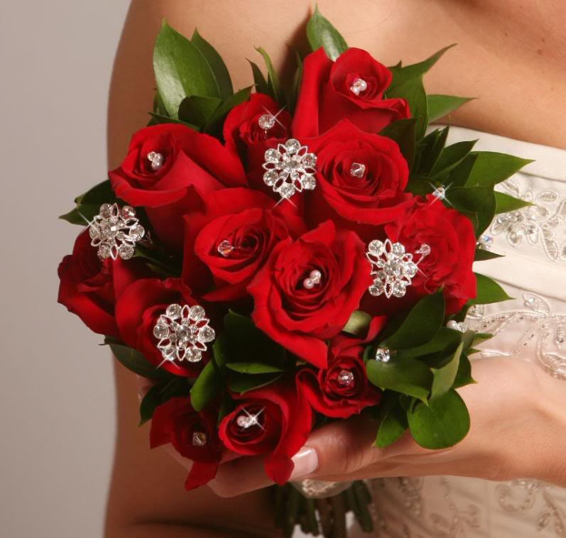 Crystal Bouquet Jewelry - Couture Bridal