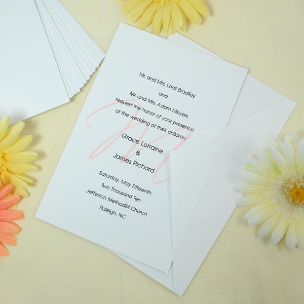 Diy white invitations kit couture bridal diy white invitations kit in31wg solutioingenieria Choice Image